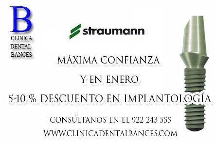 promoción implante dental en tenerife